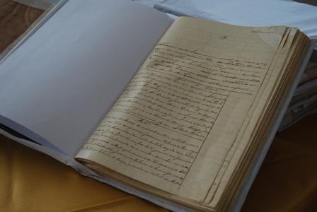 Livros restaurados